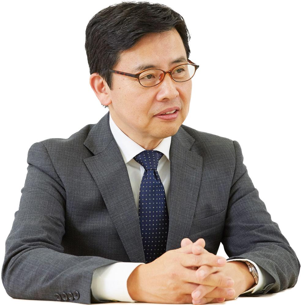 執行役員 電子・先端プロダクツ部門長 石田 郁雄
