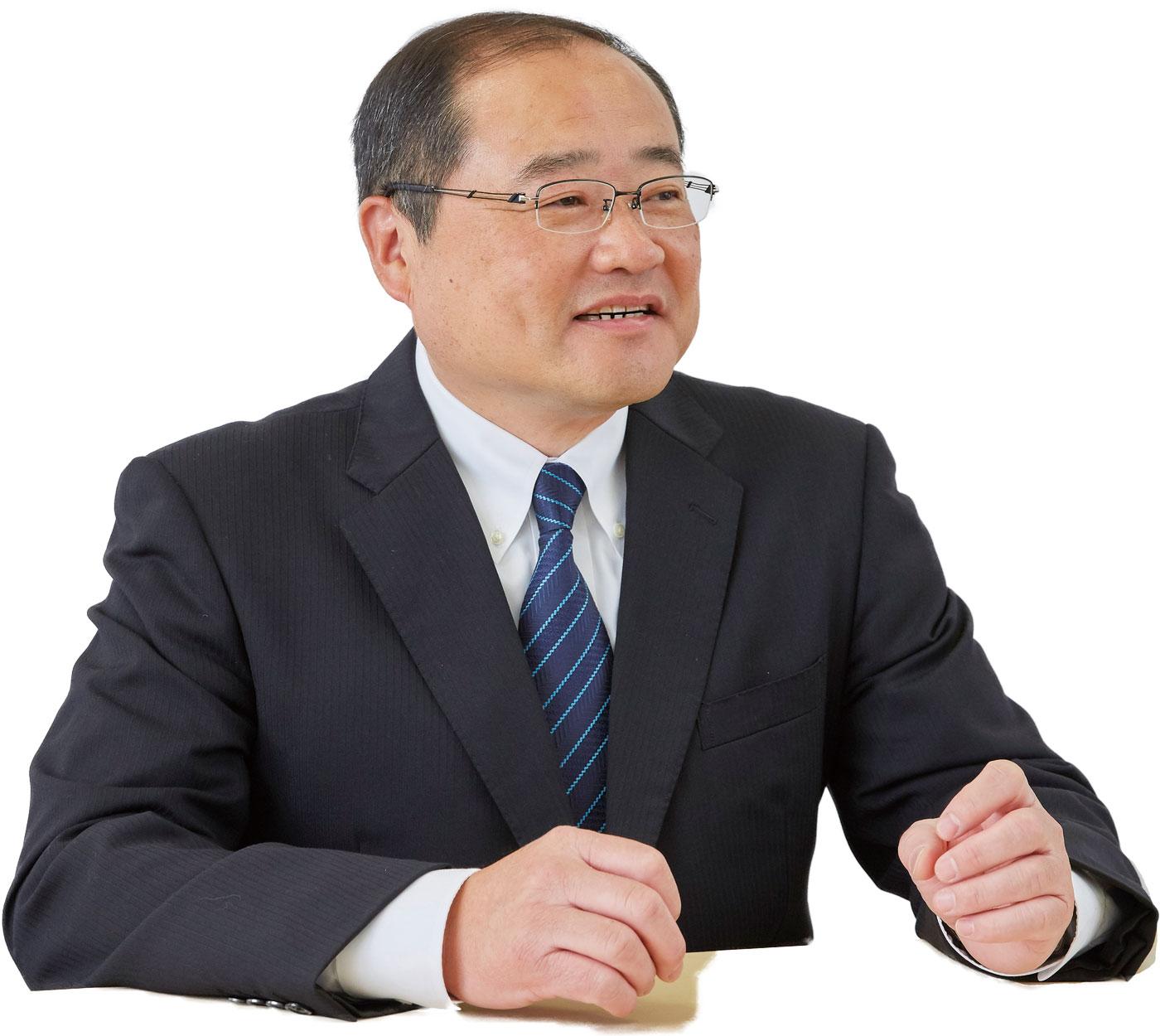 常務執行役員 エラストマー・機能樹脂 部門長 田渕 浩記